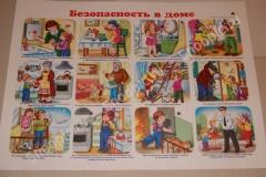 """Плакат """"Безопасность в доме"""""""