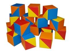 Мягкие игровые модули - Кубики «Мозаика»