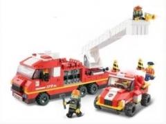 """""""Пожарные спасатели: Дежурный отряд"""" (пожарная машина с лестнице"""