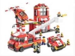 """""""Пожарные спасатели: Срочный вызов"""" (двухэтажный дом, вертолёт,"""