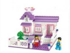 """""""Розовая мечта: Домик принцессы"""" (домик, мебель, фигурки людей,"""