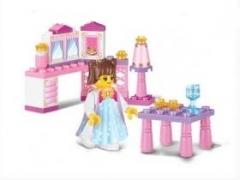 """""""Розовая мечта: Завтрак принцессы"""" (35 деталей)"""