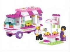 """Розовая мечта: Кафе на колёсах"" (кафе на колёсах, автомобиль, м"