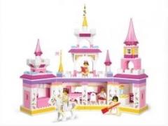 """""""Розовая мечта: Утро принцессы"""" (385 деталей0"""