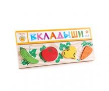 Доска-вкладыш «Овощи» (Томик)