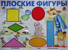 """Плакат """"Плоские фигуры"""""""
