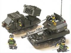 """""""Вооружённые силы: Танк и реактивная система"""" (403 детали)"""