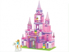 """""""Розовая мечта: Дворец принцессы"""" 472 детали"""