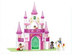"""""""Розовая мечта:  Замок принцессы"""" 271 детали"""