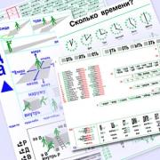 РУССКИЙ ДЛЯ ВСЕХ Таблицы формата А4