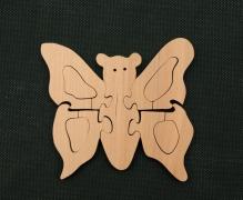 Бабочка (для раскрашивания) TreeTone.