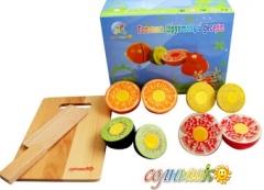 Готовим фруктовый десерт (Солнышко)