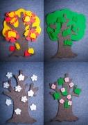 """Игры из ковролина """"Маленькое дерево"""""""