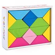 Цветные треугольники Томик