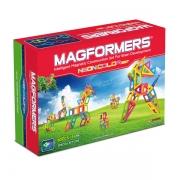 Магнитный конструктор MAGFORMERS Neon color set 60 (63110)
