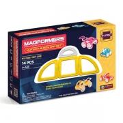 Магнитный конструктор MAGFORMERS 63144 My First Buggy, желтый