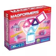 Магнитный конструктор MAGFORMERS 704002(63097) 30 Pastelle