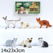 "Играем вместе. Набор из 6-и кошек "" в асс-те. арт.HB305-6"