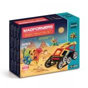 Магнитный конструктор MAGFORMERS 703010 Adventure Desert 32 set