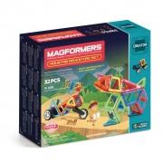 Магнитный конструктор MAGFORMERS 703011 Adventure Mountain 32 se