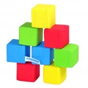 """Мякиши-кубики """"4 цвета"""" 8 кубиков"""