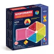 Магнитный конструктор MAGFORMERS 714005 Window Solid 14 set