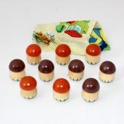 Чудо мешочек счетный материал грибы 10 шт Р-45/923 (РНИ)