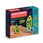 Магнитный конструктор MAGFORMERS 703007 Space Traveler Set