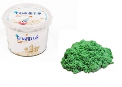 """Космический песок. """"Зеленый"""" 0,85 кг"""