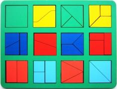 Собери квадрат 1 уровень сложности макси