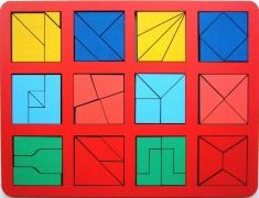 Собери квадрат 2 уровень сложности макси