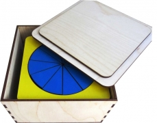 Дроби (деревянная коробка)