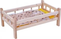 Ясюкевич. Кроватка для кукол №10 (дерево)