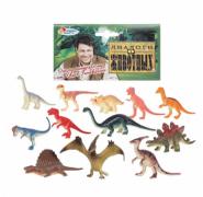 Играем вместе. Набор из 12-и динозавров арт.P9703