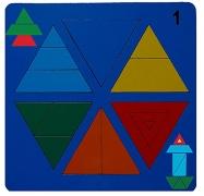 Сложи треугольник №1 (Н. Семёнова)
