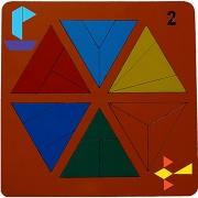 Сложи треугольник №2 (Н. Семёнова)