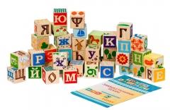 """Кубики """"Занимательные Буквы"""" 42 шт(Томик)"""
