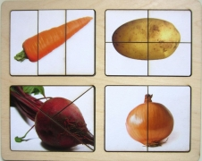 """Разрезные картинки """"Овощи-2"""""""