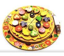 Пицца арт.7918 (дерево) 54 элемента, 5 слоев