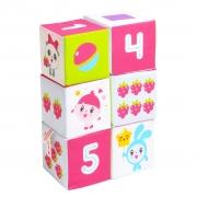 "Игрушка кубики ""Малышарики"" (Учим Формы, Цвет и Счёт)"