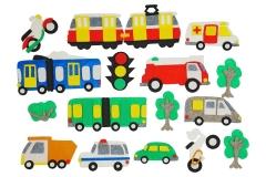 Игры из ковролина Транспорт