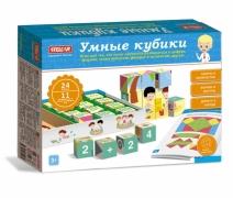 """Настольная игра №54 """"Умные кубики"""""""