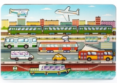 """Развивающая доска """"Городской транспорт"""" арт.8013"""