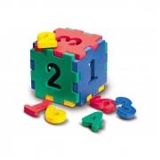 "Флексика. 45402 Конструктор ""Кубик с цифрами"""