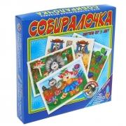 Настольная игра Собиралочка-1 (лес)
