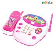 """Телефон стационарный, """"Милая принцесса"""" звук"""