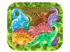 "Зоопазл ""Динозавры"" арт.8076"