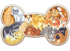 "Зоопазл ""Собаки"" 13 деталей арт.8069"