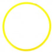 Обруч, диаметр 60 см, цвет желтый У634