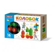 "Конструктор ""Колобок"" (16 деталей), коробка"